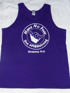 Purple Have No Fear Tank