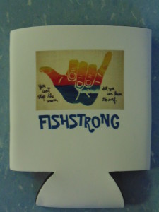 Stop the Wave Fishstrong Koozie